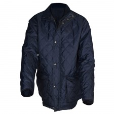 Roughneck Clothing Blue Quilted Jacket