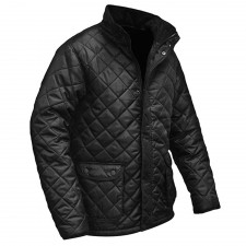 Roughneck Clothing Black Quilted Jacket