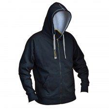Roughneck Clothing Black & Grey Zip Hooded Sweatshirt