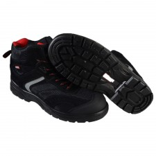 Scan Bobcat Low Ankle Black Hiker Boots