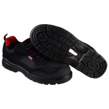 Scan Caracal Black Safety Trainers