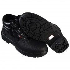 Scan 4 D-Ring Chukka Black Safety Boots