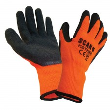 Scan Thermal Latex Coated Glove Size 9