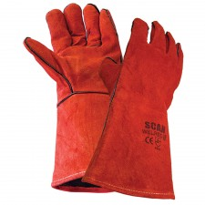Scan Welders Gauntlet - Red