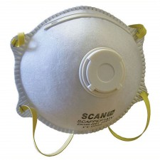 Scan Moulded Disposable Mask Valved FFP1 Protection