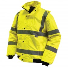 Scan Hi-Vis Bomber Jacket Yellow