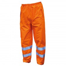 Scan Hi-Vis Motorway Trouser Orange