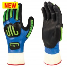 Showa 377-IP Nitrile Foam Coating Anti-Impact Glove