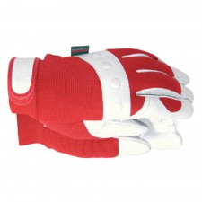 Town & Country Comfort Fit Red Gloves Ladies - Medium