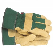 Town & Country Ladies Fleece Lined Leather Palm Gloves