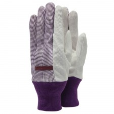 Town & Country Polka Dot Cotton Grip Ladies Gloves (One Size)