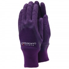 Town & Country Master Gardener Ladies Aubergine Gloves (Small)