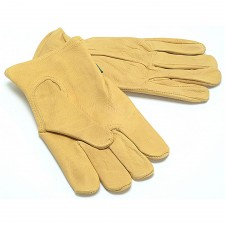 Town & Country Mens Grain Cowhide Gloves Mens - Medium
