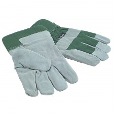 Town & Country Mens Fleece Lined Leather Palm Gloves