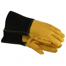 Town & Country Mens Heavy-Duty Leather Palm Gauntlet