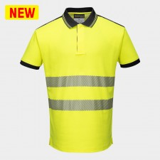 Portwest T180 PW3 Hi-Vis Polo Shirt S/S
