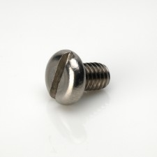 DIN 85 Pan Head Slotted Metric Machine Screws - BZP & Stainless Steel