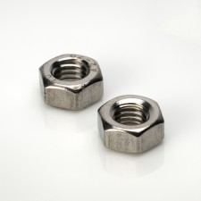 DIN 934 Hexagon Full Nuts - BZP & Stainless Steel