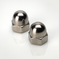 DIN 1587 Hexagon Dome Nuts - BZP & Stainless Steel