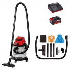 Einhell TC-VC 18/20 Li Power-XChange Wet & Dry Vacuum 3.0A