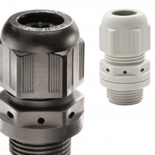 Sprint Metric Cable Gland with Vent - Plastic