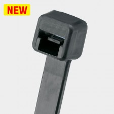 Panduit Black Heat Stabilized Nylon 6.6 Pan-TY Cable Tie - PLT Series