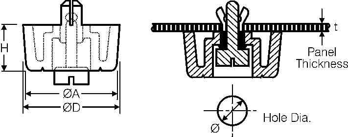 Line Art Solutions Ltd : Feet supporting drive screw type optimas solutions
