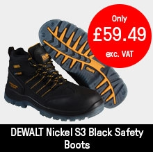 DEWALT Nickel S3 Black Safety Boots