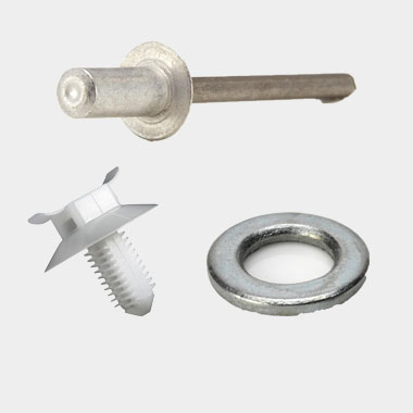 Washer Plastic Rivet Metal Rivet