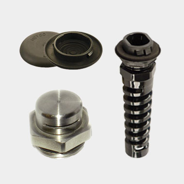 Heyco Liquid Tight Break-Thru Plug Ventilation/Pressure Balance Stainless Steel Plug Heyco-Tite Snap-In-2 Liquid Tight Flex Protect