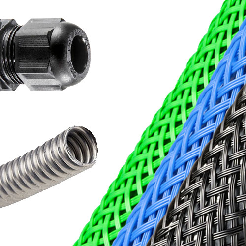 Cable Gland Steel Conduit Braided Sleeving