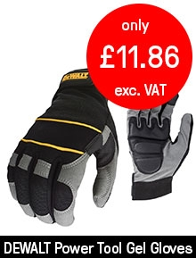 DeWalt Powertool Gel Safety Gloves