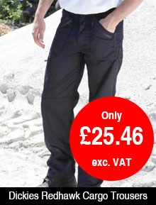 Dickies Black Redhawk Cargo Trouser