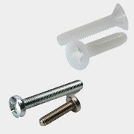 Nylon Plastic Screw Metal Screw Fasteners
