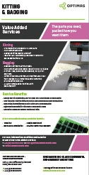 Optimas Components - Kitting & Bagging Brochure