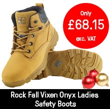 Rock Fall Vixen Honey Onyx Ladies Safety Boots