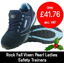 Rock Fall Vixen Pearl Ladies Safety Trainers