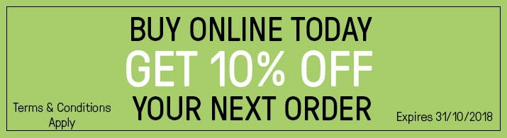 10% Off Your Next Order